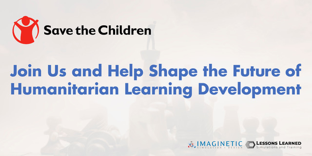 Serious Games in Humanitarian Learning – Report Release
